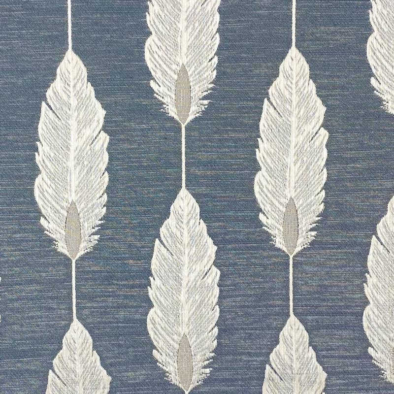 Feather Denim Made to Measure Curtains