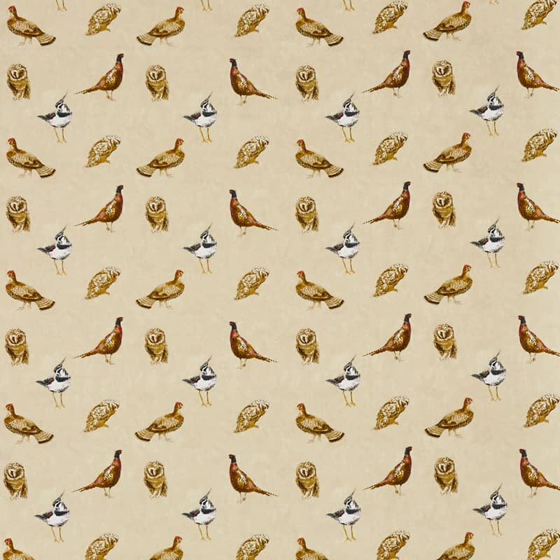 Wild Birds Canvas Made to Measure Curtains