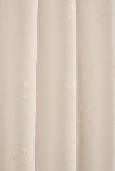 Juniper Cream panels Voiles & Voile Panels