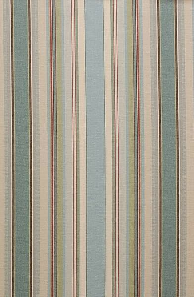 French Stripe Blue Made To Measure Curtains