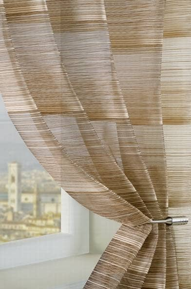 Strata Brown panels Voiles & Voile Panels