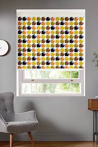 Love Hearts, Multi Roller Evo Deluxe, Roller Blinds