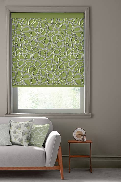Pebbles, Cricket Green Roller Evo Deluxe, Roller Blinds