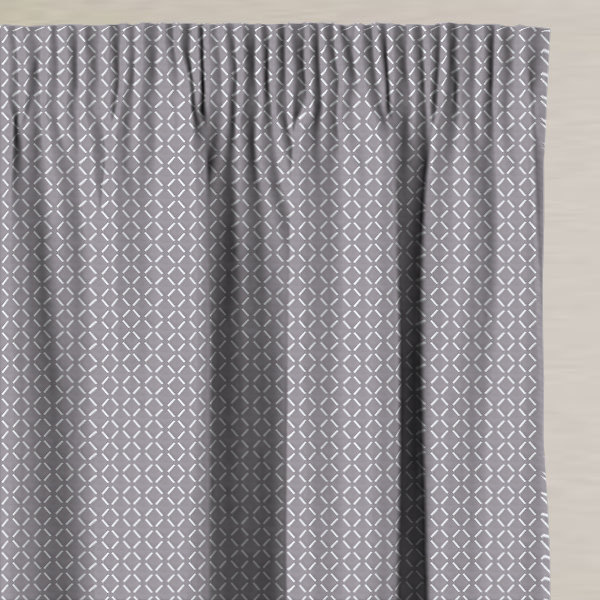 Burman Graphite Made to Measure Curtains