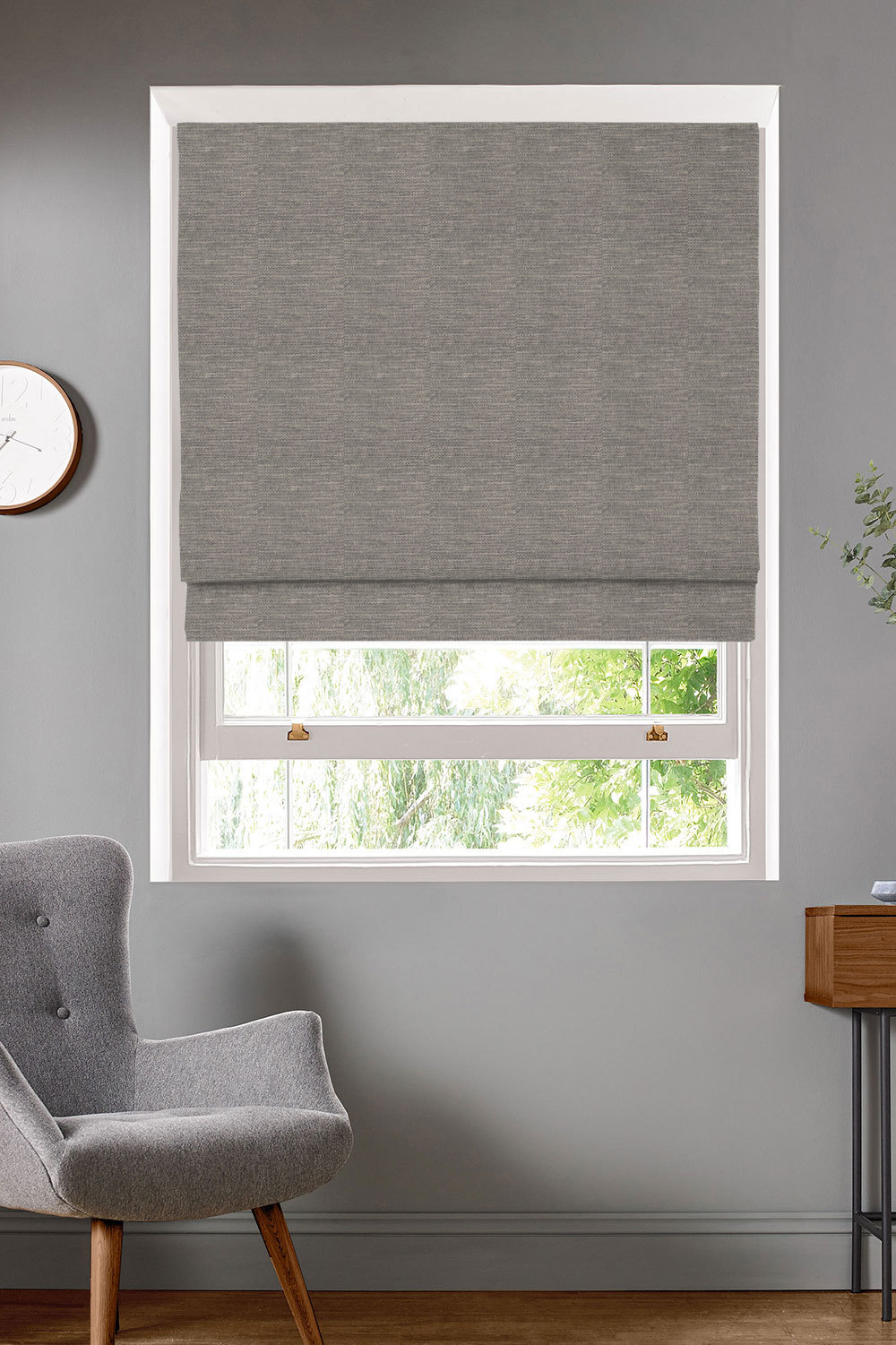 Antilla Gravel Roman Blinds
