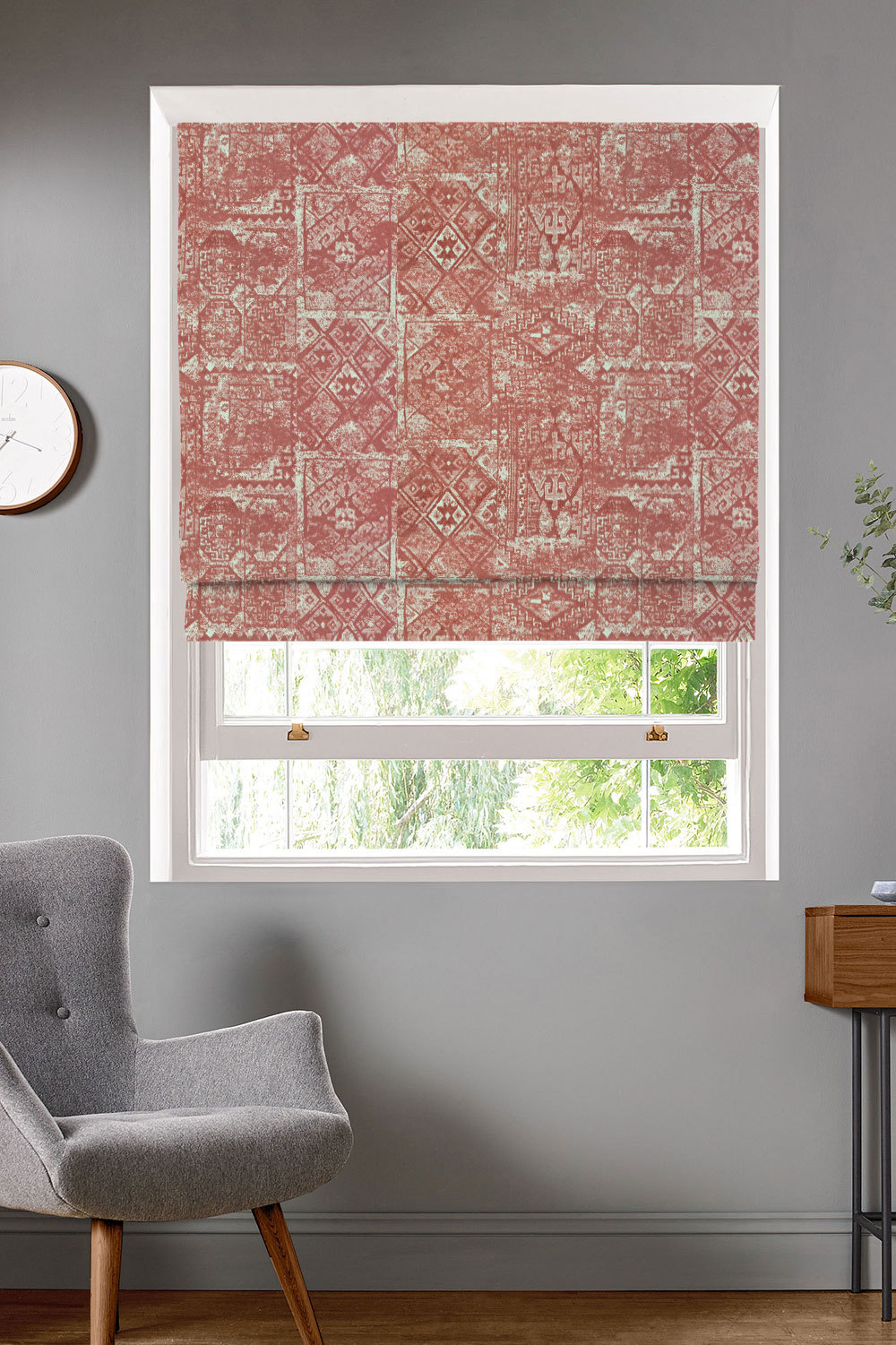 Kashan Spice Roman Blinds