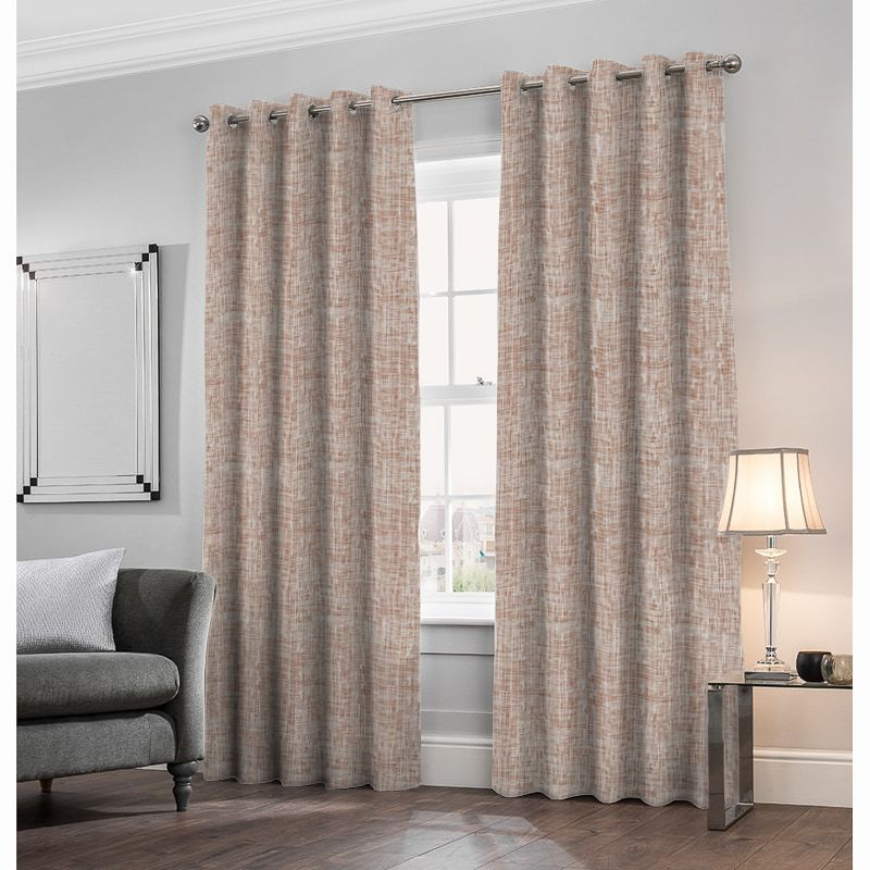 Odyssey Terracotta Made to Measure Curtains