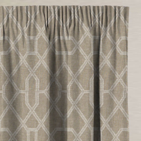 Matanzas Natural Made to Measure Curtains