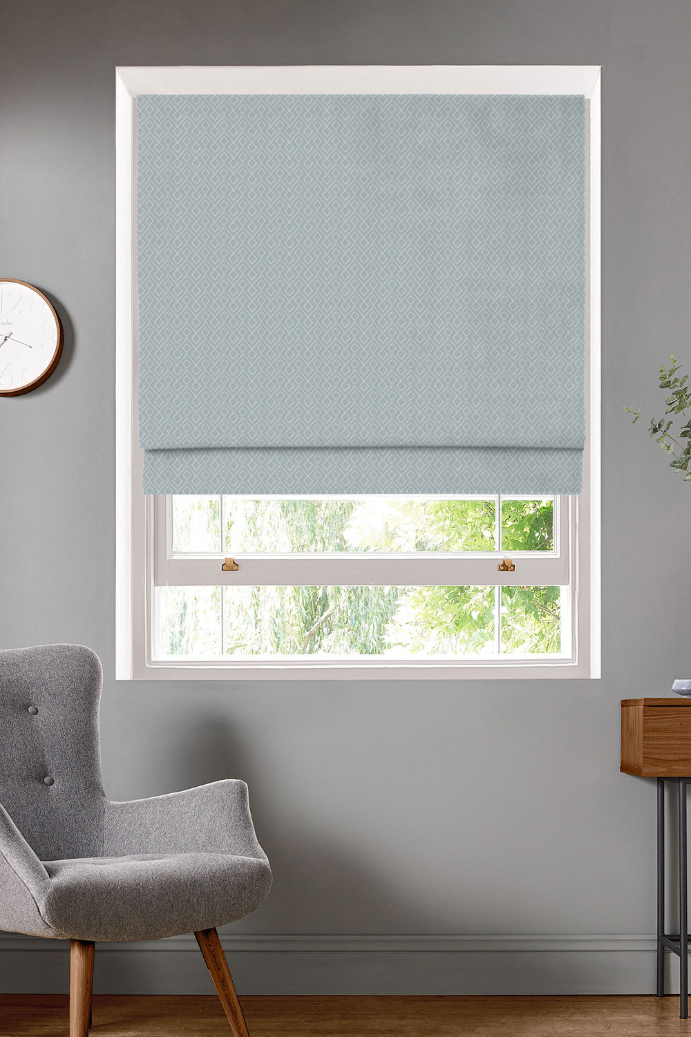 Kinver Ice Roman Blinds