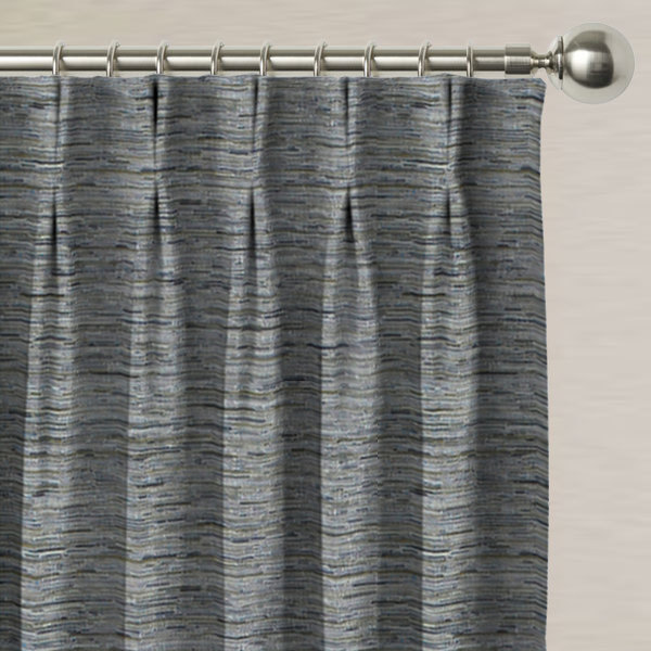 Glitz Silver Made to Measure Curtains