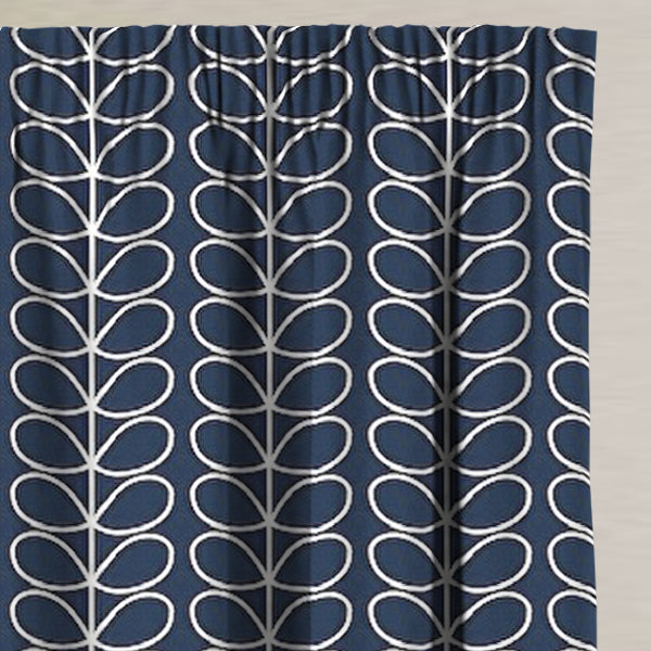 Linear Stem Whale Made to Measure Curtains