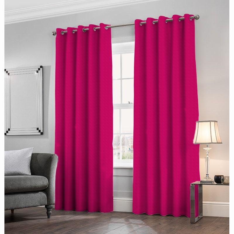 Alaska Velvet Fuchsia Made to Measure Curtains