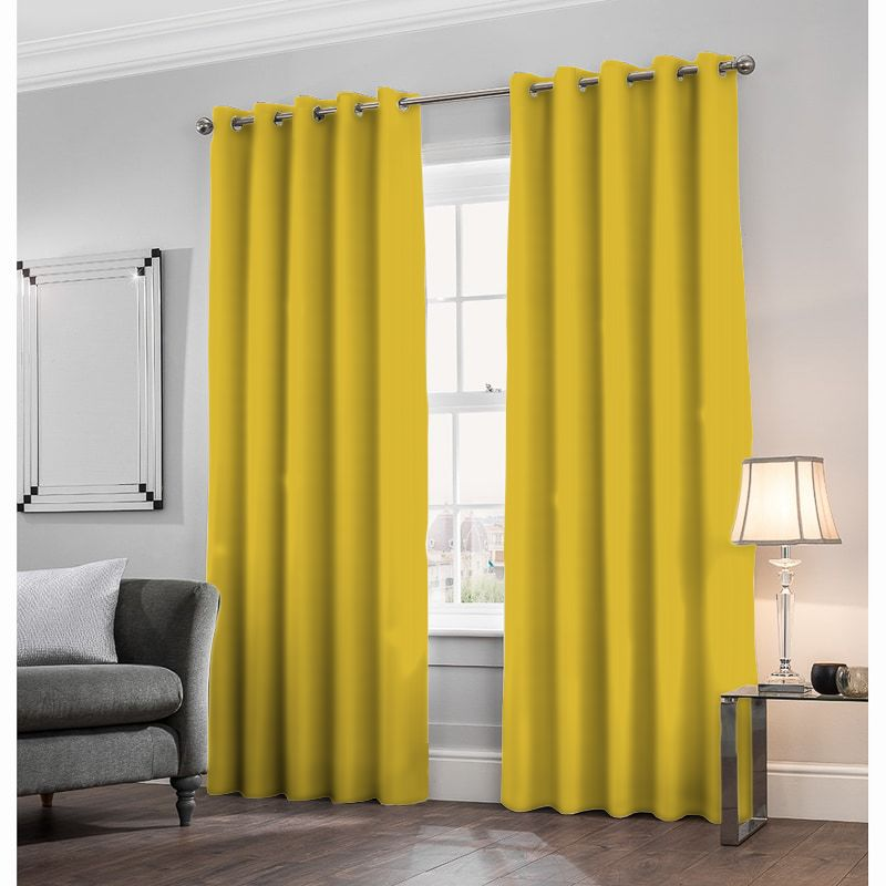 London Velvet Gold Made to Measure Curtains