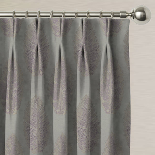 Eden Mauve Made to Measure Curtains