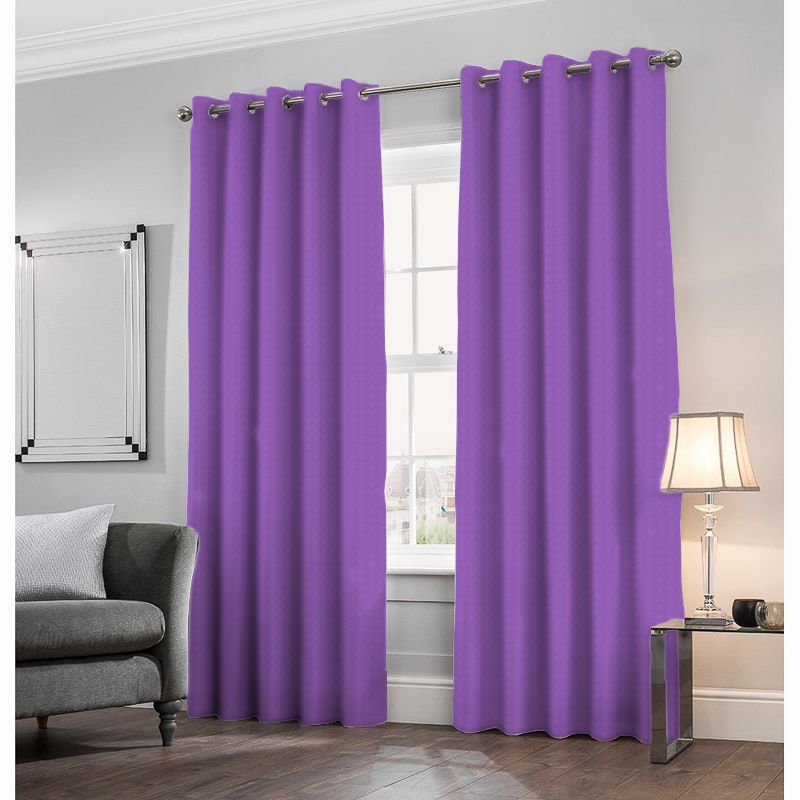 London Velvet Amethyst Made to Measure Curtains