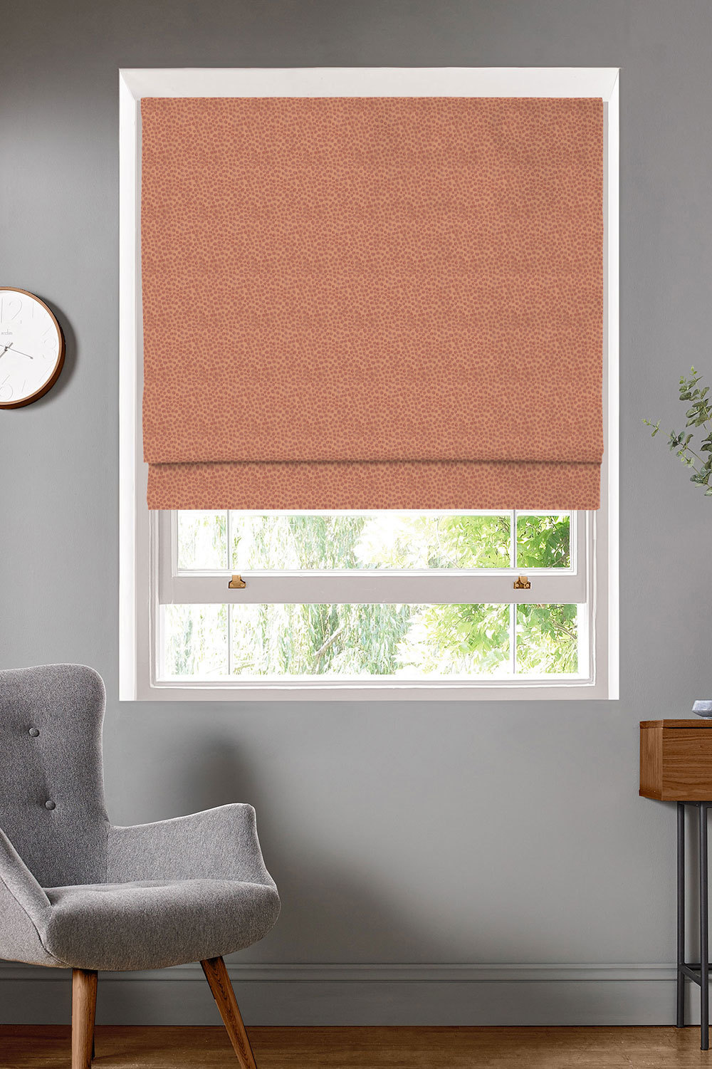 Furley Ginger Roman Blinds