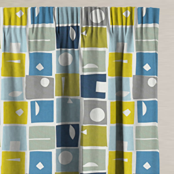 Bonnie Bluebell Made to Measure Curtains