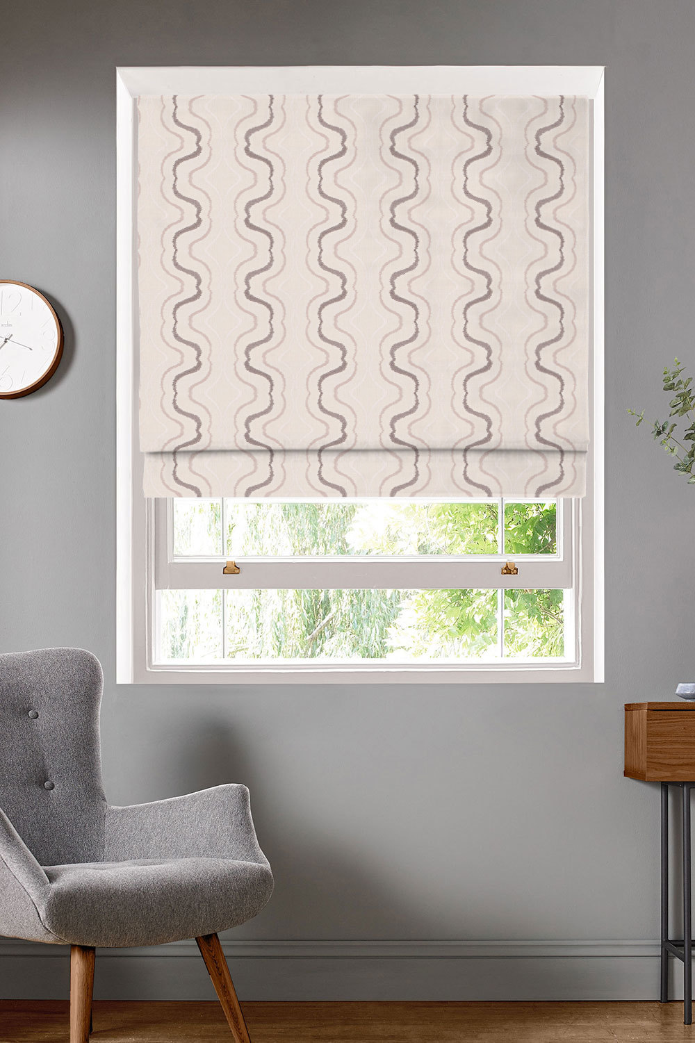 Latina Pebbles Roman Blinds