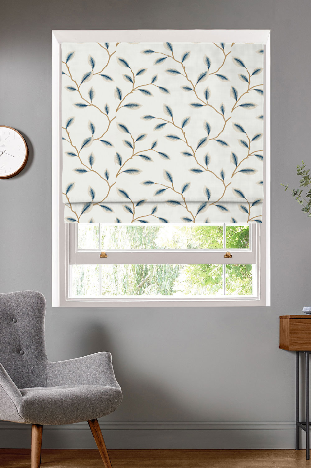 Kyoto Pacific Roman Blinds