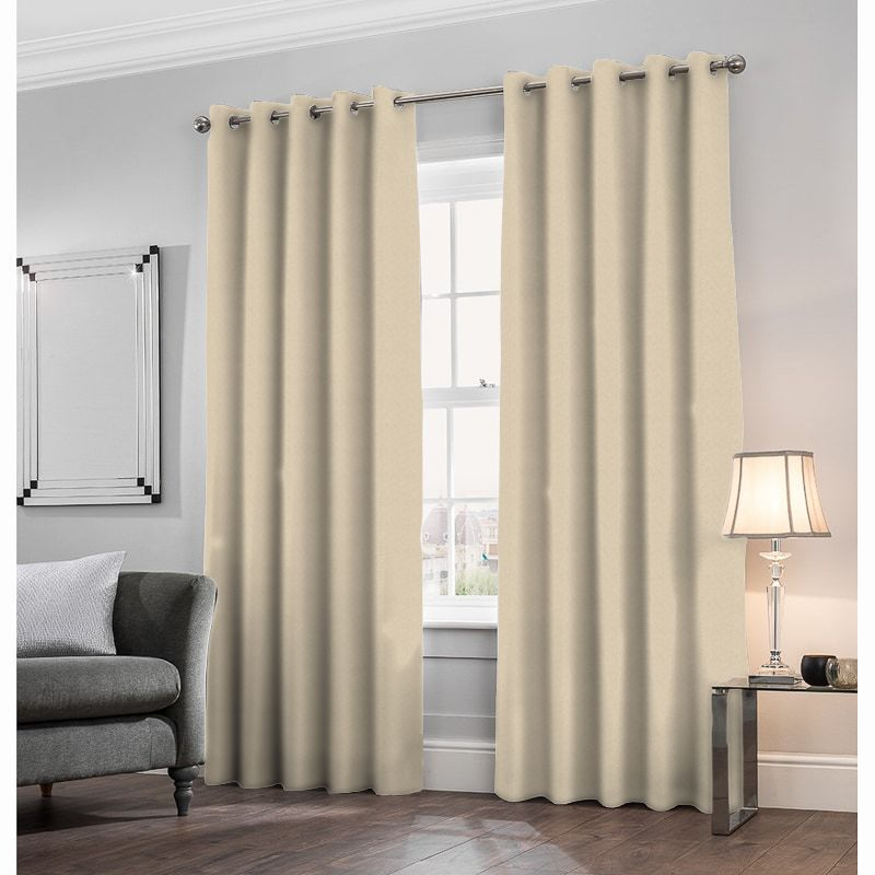 Trebeck Champagne Made to Measure Curtains
