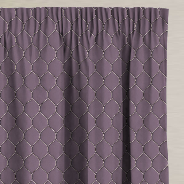 Bazely Amethyst Made to Measure Curtains