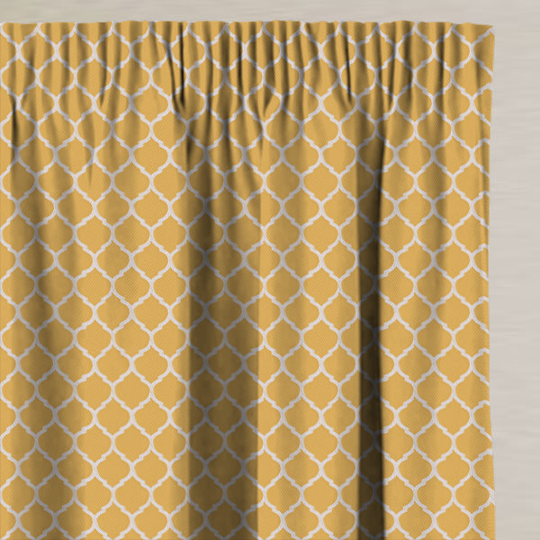 Camley Sunflower Made to Measure Curtains