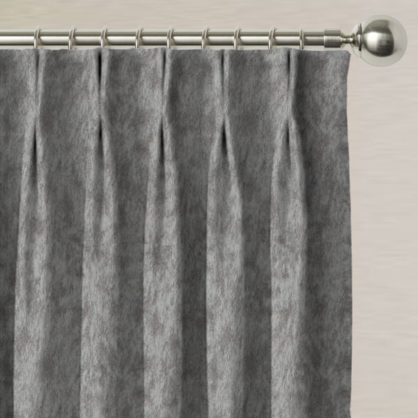 Porto Charcoal Made to Measure Curtains