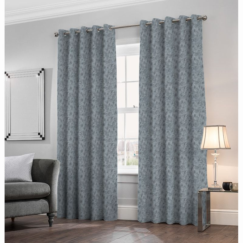 Porto Midnight Made to Measure Curtains