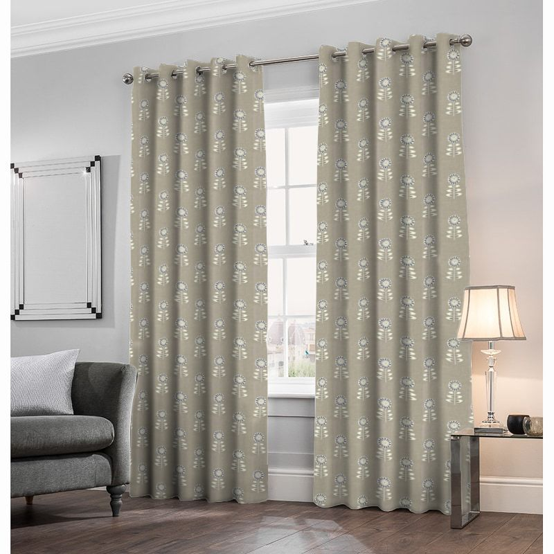 Rushock Natural Made to Measure Curtains