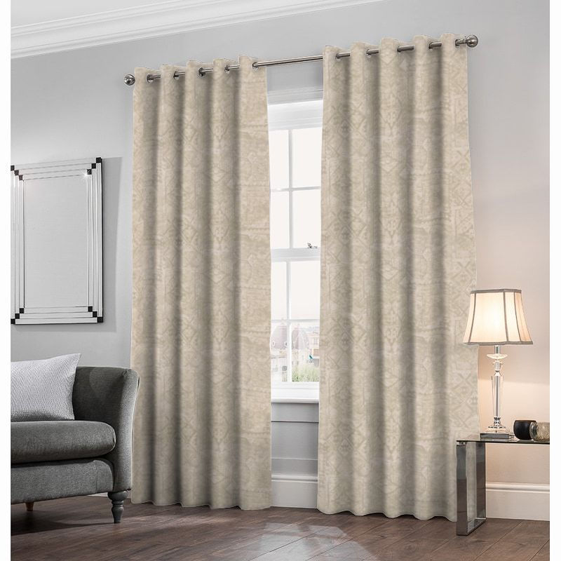 Kashan Natural Made to Measure Curtains