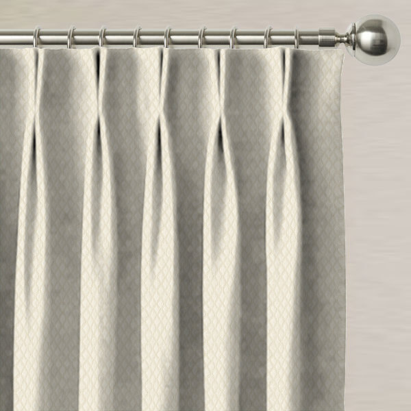 Trebeck Ivory Made to Measure Curtains