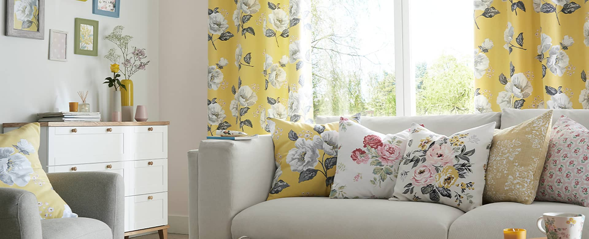 New for 2020 - Cath Kidson range of Made to Measure Curtains & Blinds