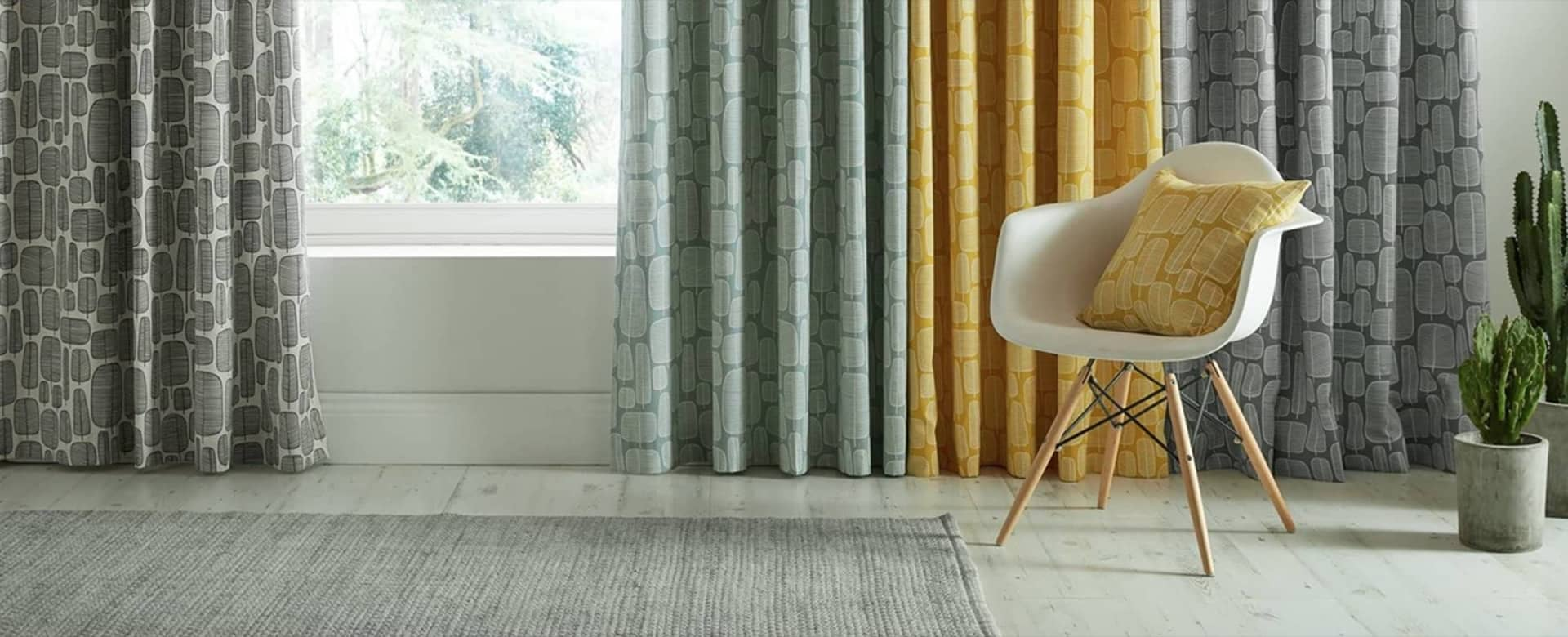 MissPrint® range of Made to Measure Curtains & Blinds