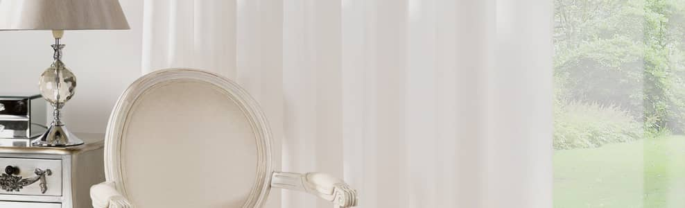 Cream  Net Curtains UK