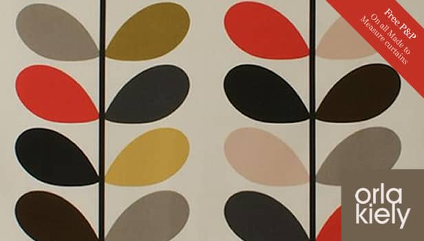 Orla Kiely fabric designs